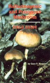 Cover of Gary Menser's Book Hallucinogenic And Poisonous Mushroom Field Guide