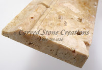 5x36 Golden Orient Travertine Base Molding