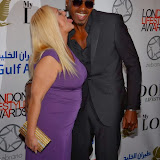 WWW.ENTSIMAGES.COM -       Vanessa Feltz and Ben Ofoedu  at          London Lifestyle Awards at The Troxy, 490 Commercial Road, London,October 23rd 2013                                             Photo Mobis Photos/OIC 0203 174 1069