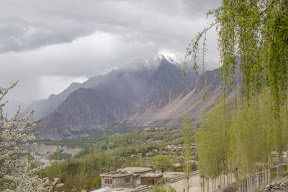 Day-2 in Hunza: A rainy morning in Hunza Valley.