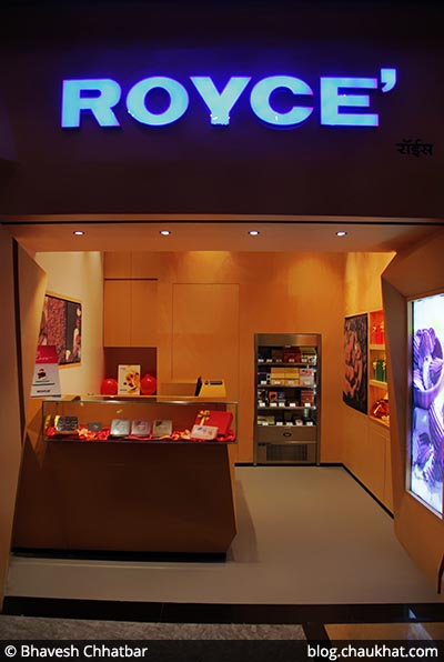 ROYCE' Store at Phoenix Market City [Pune, India]