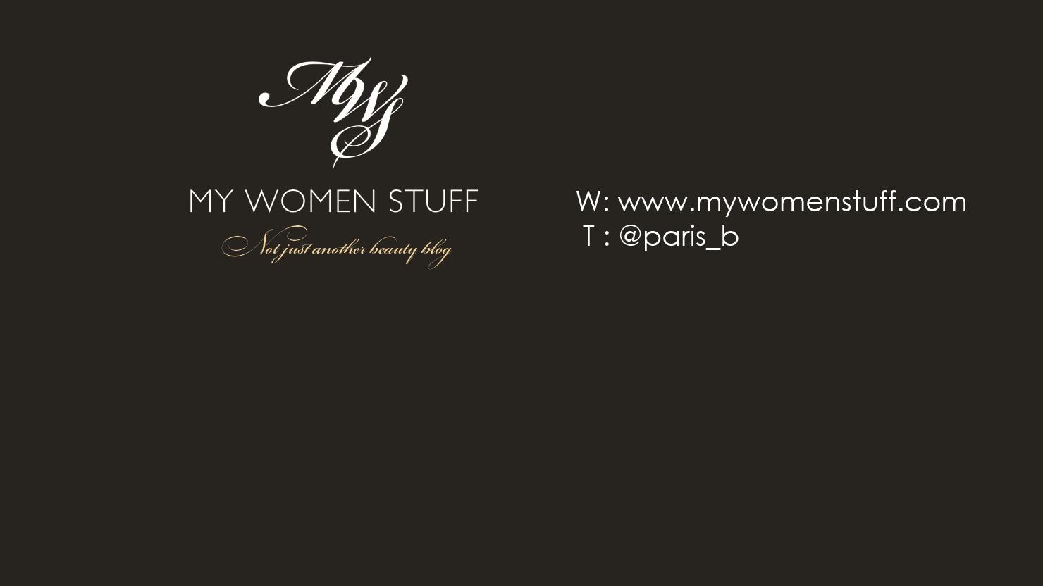 Mi Mujeres Cosas No sólo otro Blog Malasia Belleza
