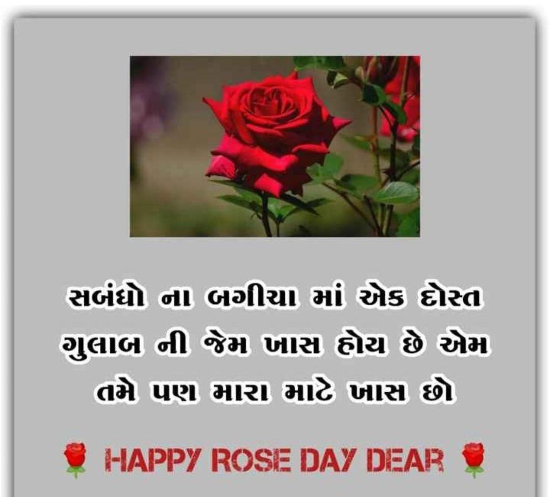 Gujarati-Rose-Day-status-image