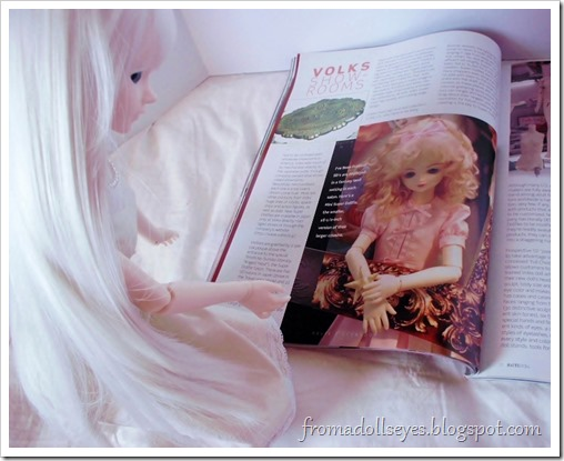 Bjd Lifestyle: Haute Doll Magazine, The Bjd Issue? Checking out the clothes.