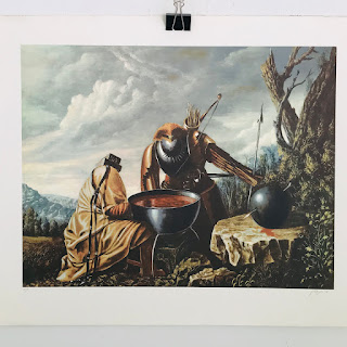 Yossi Rosenstein Signed Lithograph #4