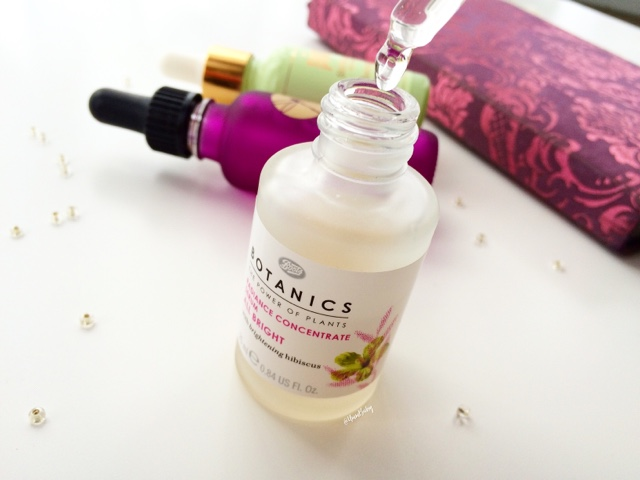 Boots Botanics Radiance Concentrate Serum review