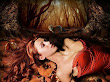 Sleeping Beauty And Wolf
