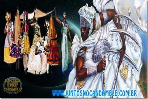 Oxala - obatala - orisha - orinxala - oxaguian - oxalufan - orisa - candomble - umbanda - culto - africa