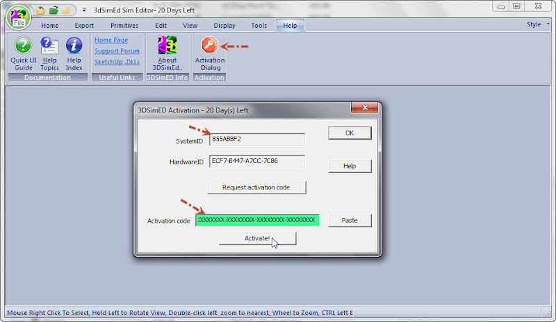 SketchUp - 3dSimED Sim Editor v2.17a with SketchUp Import & Export Simedact