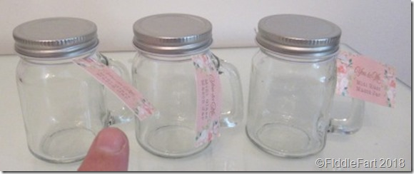 mini mason jar glasses Home Bargains