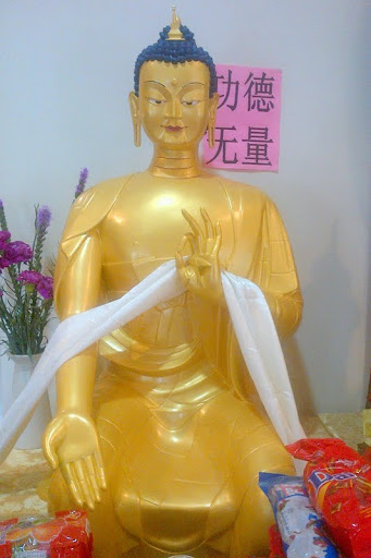 Maitreya Statue, Chokyi Gyaltsen Center, Malaysia, April 2012