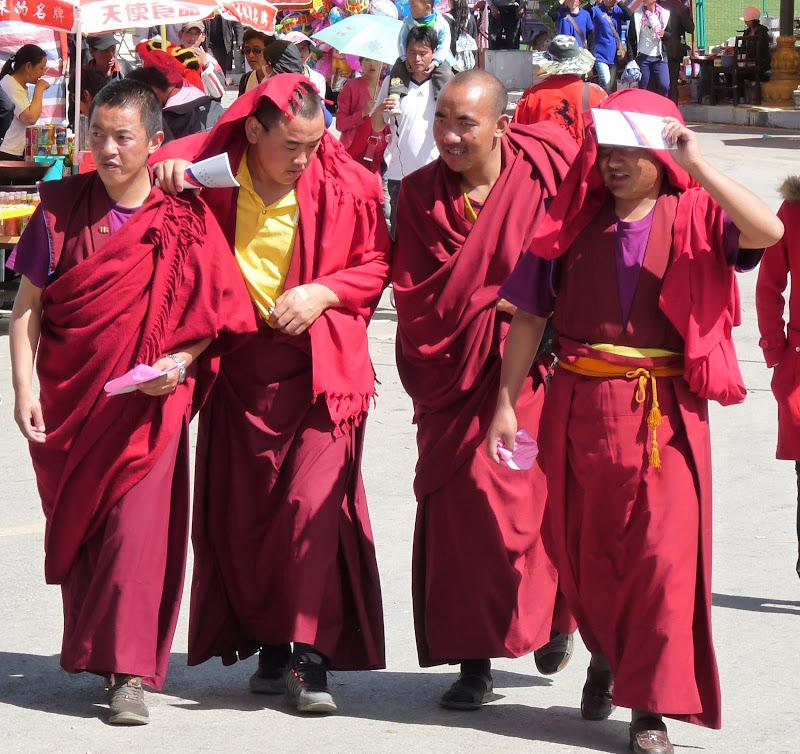 Chine. Yunnan.Shangri la Course hippique annuelle - P1250736.JPG