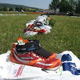 Nonstop Triathlon 2010: Wechselzone Baunach