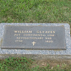 William Gleaves The Gleaves Family Cemetery Cripple Creek,  Wythe Co. , Virginia