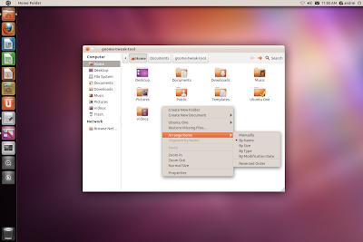 Ubuntu 11.10 Oneiric Ocelot radiance