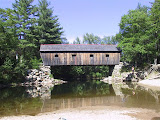 Lovejoy covered bridge and swimming hole - nearby