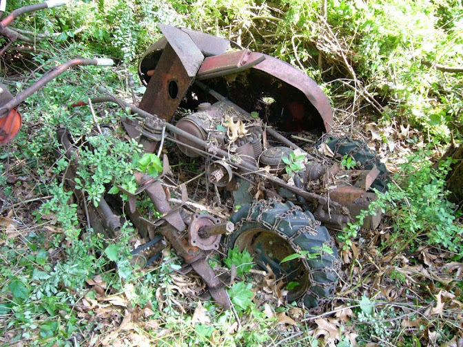 1965 Gravely 4 Wheel Tractor : Potential gravely find mytractorforum the