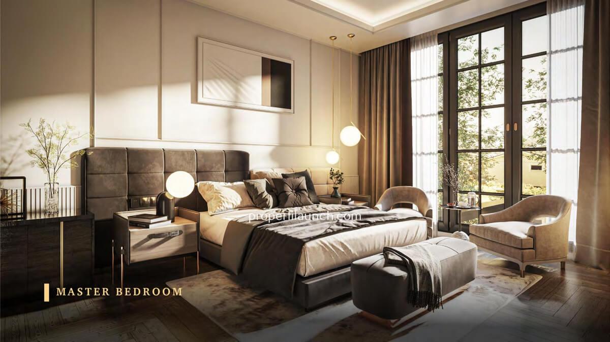 Master Bedroom Rumah Bukit Podomoro Jakarta Tipe 6