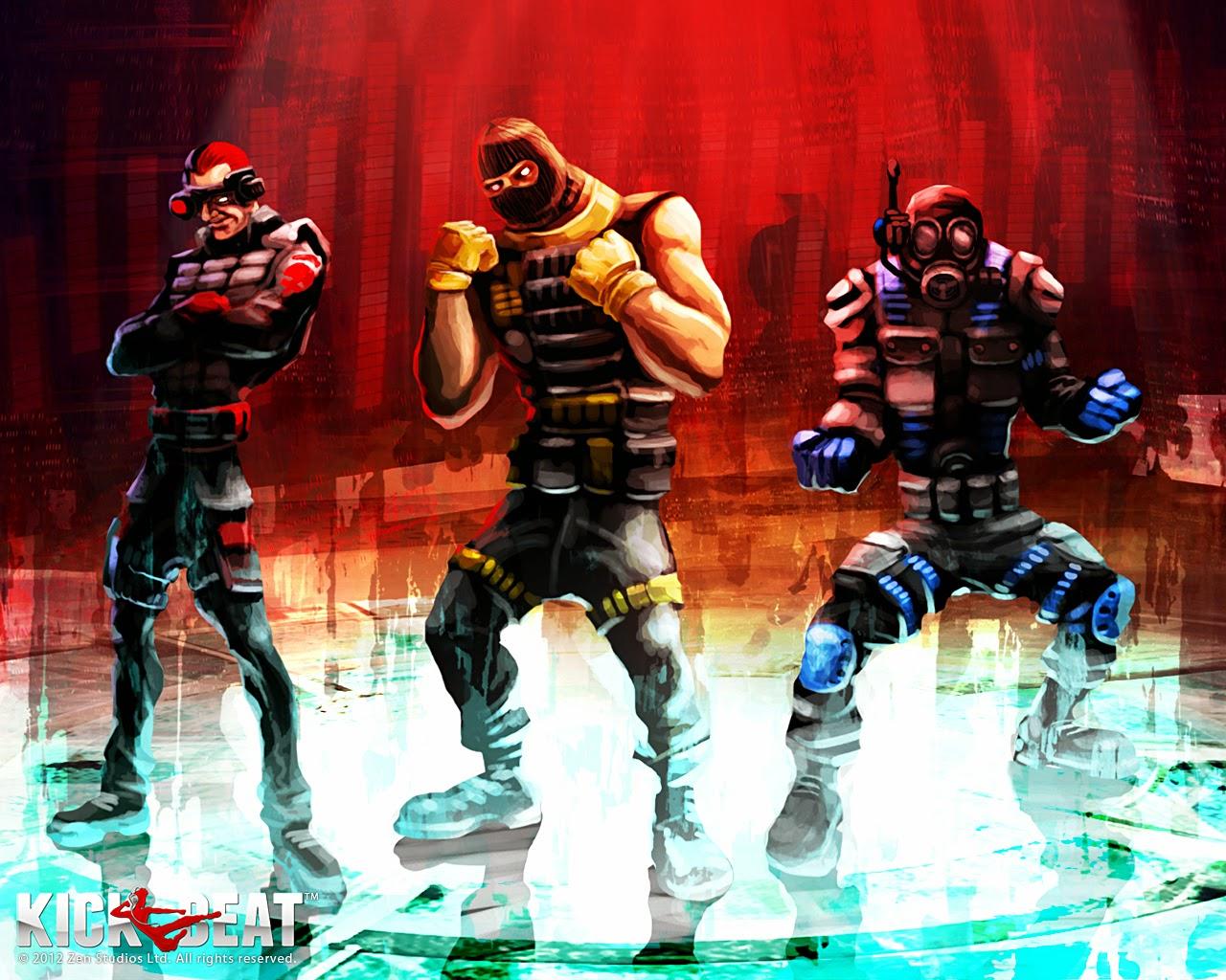 Loạt hình nền tuyệt đẹp của game âm nhạc KickBeat - Ảnh 11