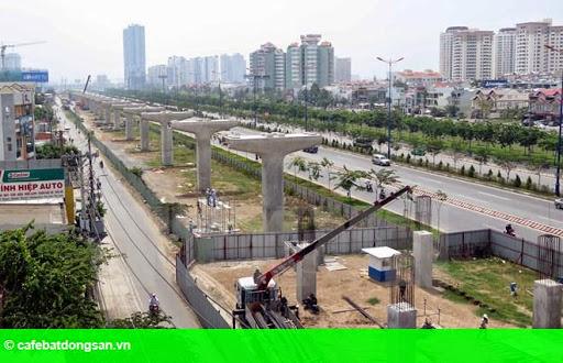 Hình 1: TP.HCM công bố chủ trương thu hồi đất để xây tuyến metro số 2