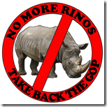 NO MORE RINOS
