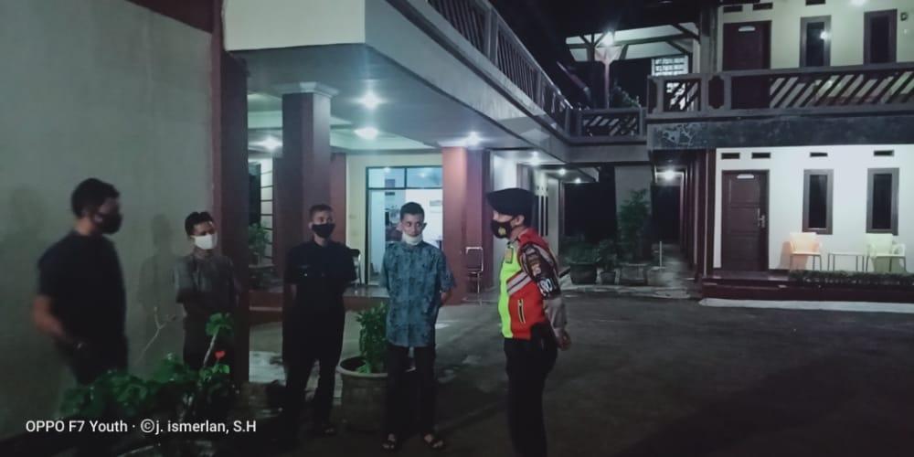 Dit Pam Obvit Polda Banten Rutin Patroli Himbau Protokol Kesehatan