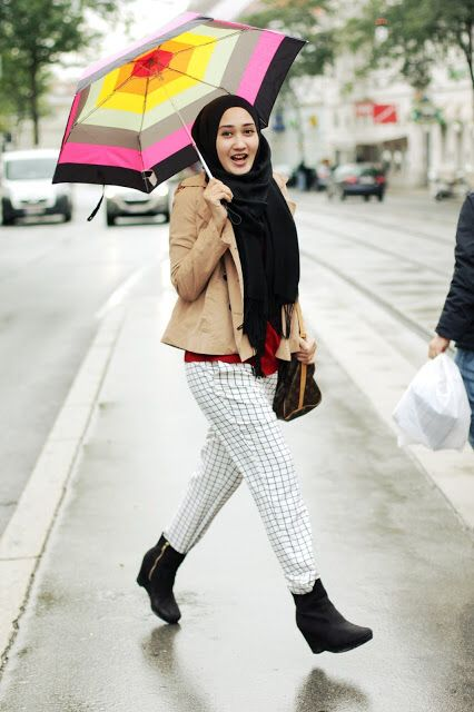 Casual Hijab Fashion Style 2016 Styles 7