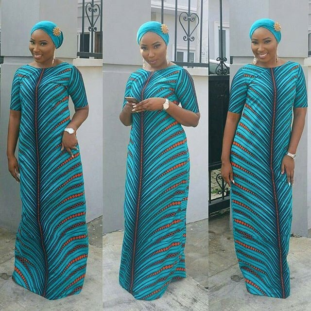 Latest Long ankara Dress Styles 2017 (7)