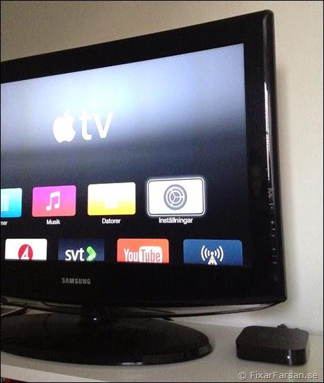 installera appar apple tv