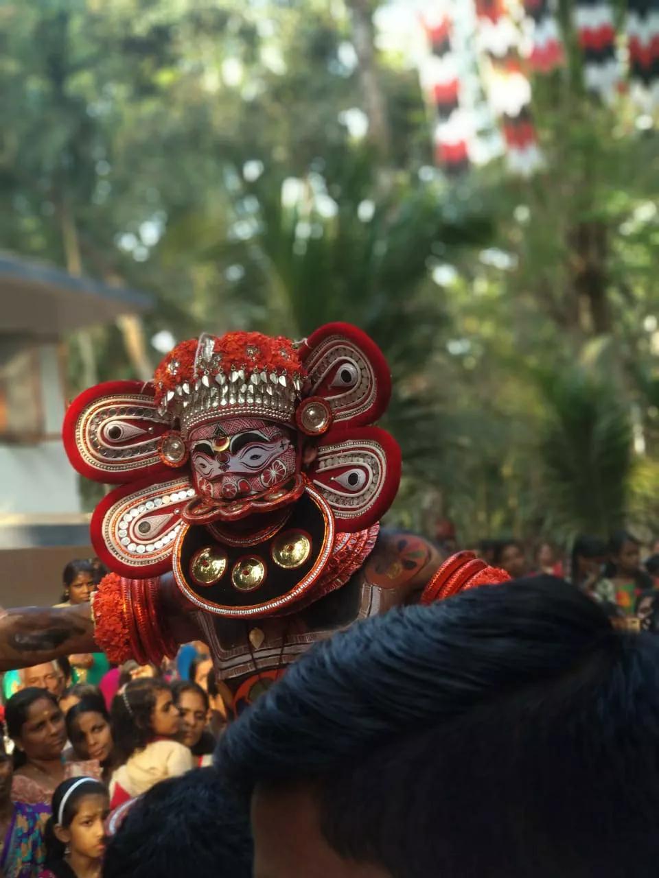 Kuttichathan Theyyam - കുട്ടിച്ചാത്തന് തെയ്യം 2