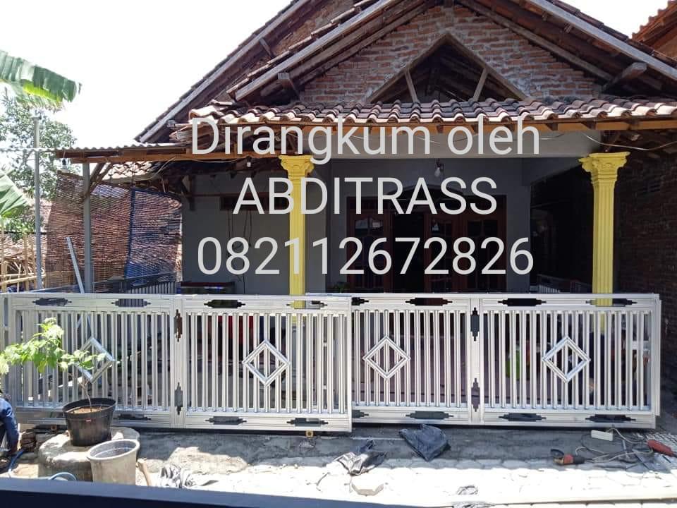 Pagar Minimalis Kanopi Bajaringan Dan Teralis Home Furniture