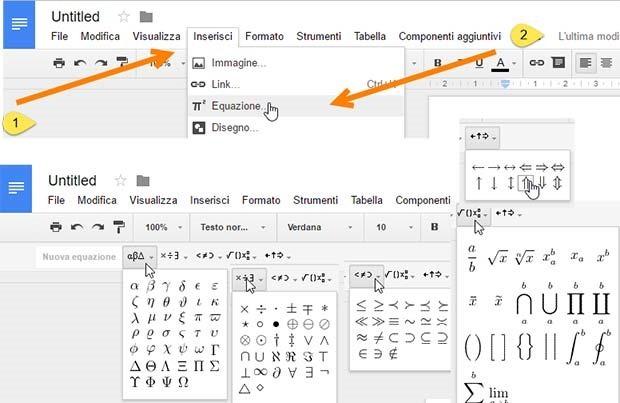 equazioni-google-documenti