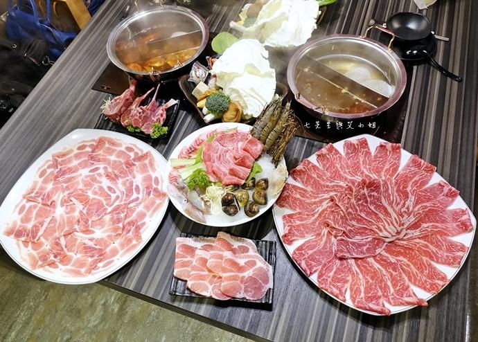 35 丰明殿 信義殿 超大肉盤 涮涮鍋 痛風海鮮盤