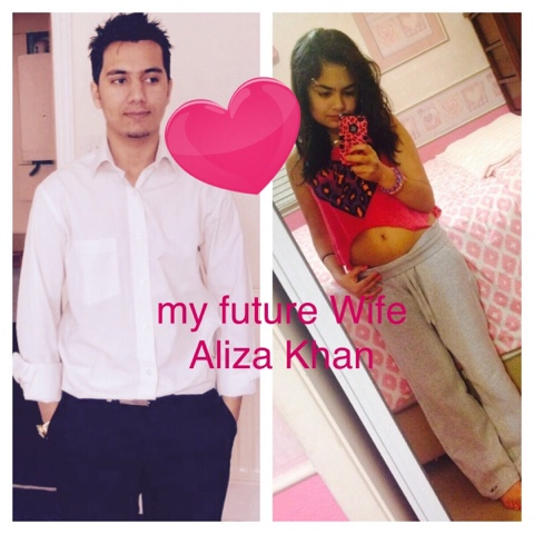 Aliza And Adil Khan I Miss You So Much Babe
