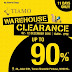2-12 December 2016 Tiamo warehouse sale Penghabisan Stok