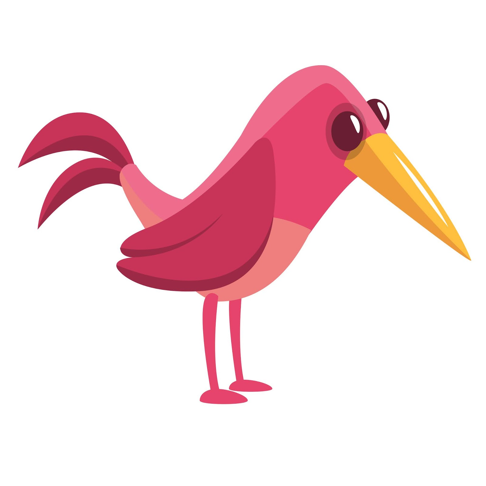 Cartoon Bird Free Download Vector CDR, AI, EPS and PNG Formats
