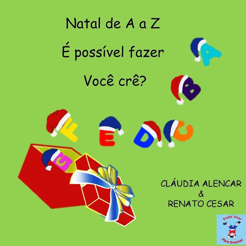 NATAL DE A A Z - LIVRO E ATIVIDADES