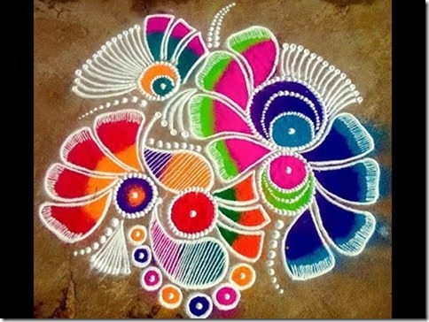 Rangoli para Diwali   (4)