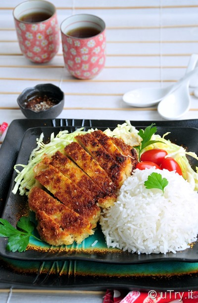 Tonkatsu- Japanese Style Pork Cutlets (日式吉列豬扒)   http://uTry.it