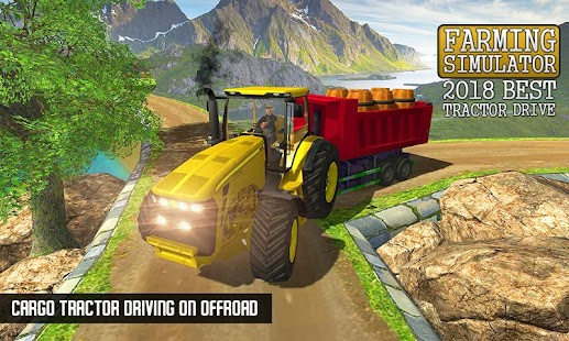 Real Farm Simulator - Offroad Transport Game 2018 - náhled