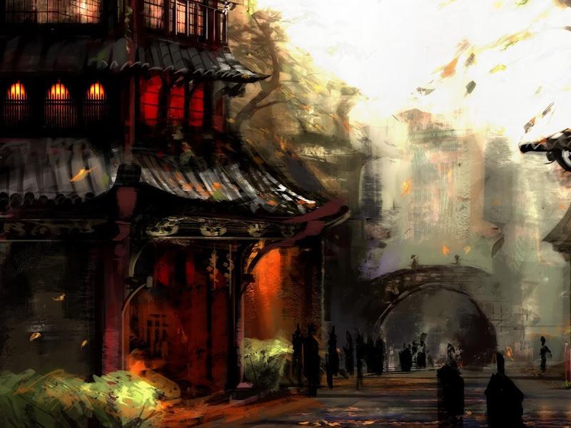 Nightmare Of Lands 25, Magical Landscapes 5