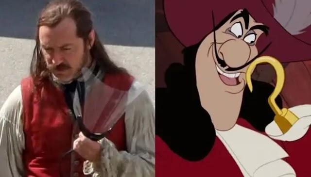 Jude Law a versão Jovem de Alvo Dumbledore em Animais Fantásticos, Será Capitão Gancho em Peter Pan & Wendy