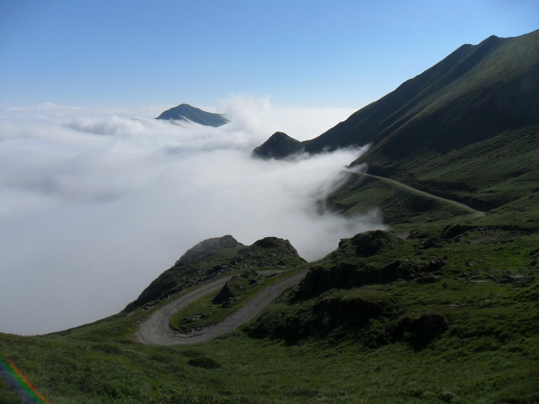Abstieg zum Col de Pause