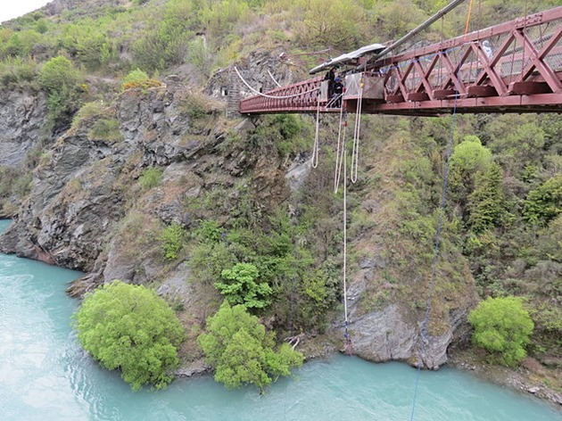 Kawarau Bridge, Queenstown, New Zealand