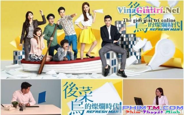 Xem Phim Thời Đại Rực Rỡ Của Hậu Tân Binh - Refresh Man - phimtm.com - Ảnh 1