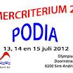 2012 Vlaams Zomercriterium Podia
