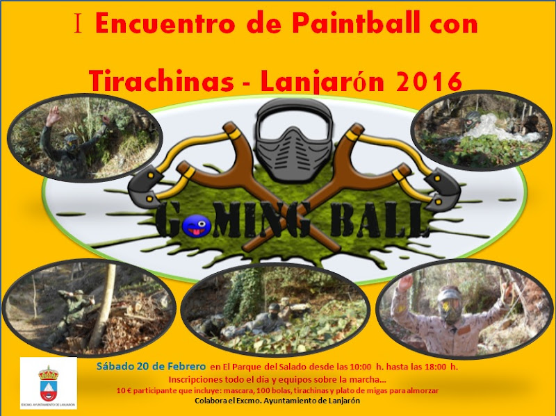 I Encuentro de Paintball con tirachinas