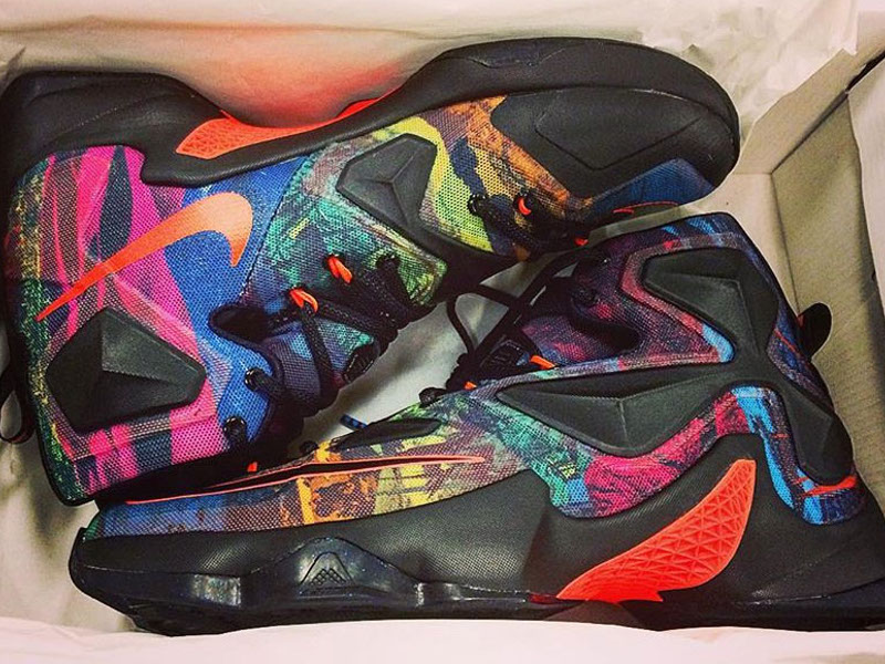 535f5efd0fa2d8 This Upcoming Nike LeBron 13 Uses More Colors Than Skittles ...