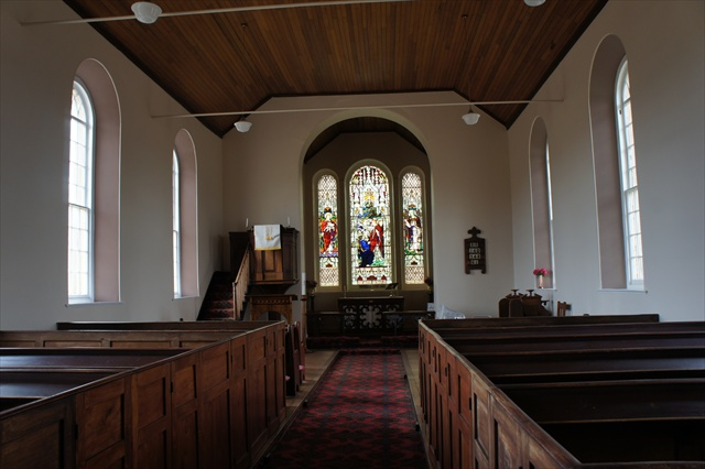 Interior of St Thomas Church