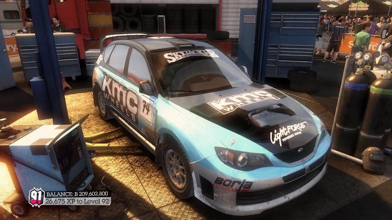 รายการรถกลุ่ม Rally ใน DiRT2 Sti-03